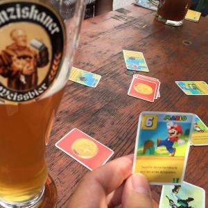 Mein Super-Mario-Love-Letter auf der Wimbachgrieshütte diesen Sommer.