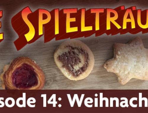 Spielträumer-Podcast #14 – Weihnachten (irgendwas mit …)