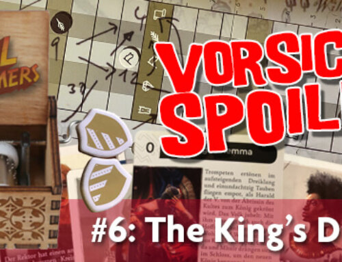Podkästchen 06: The King's Dilemma SPOILERCAST