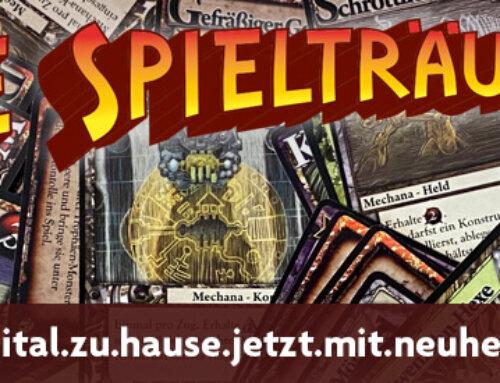 The Spielträumers 49: Spiel.digital.zu.Hause.jetzt.mit.Neuheitenshow.de
