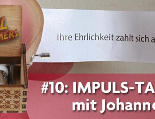 Podkästchen 11: Impuls-Talk mit Johannes Wolf